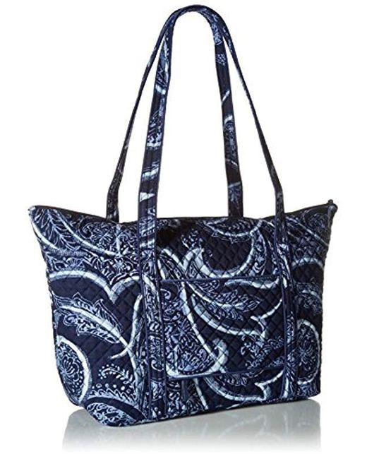 a95a5f959206 ... Vera Bradley - Blue Iconic Miller Travel Bag