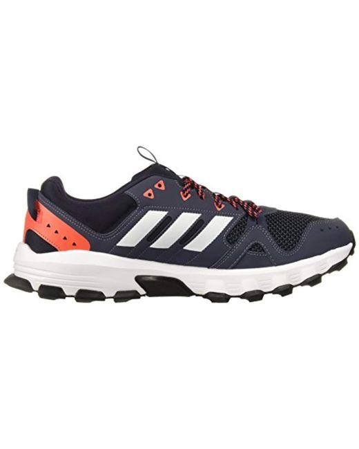 9bfa5117a ... Adidas - Blue Rockadia Trail M Running Shoe for Men - Lyst ...