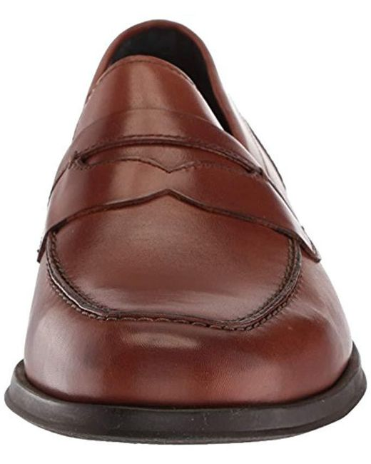 4b68218d359 Lyst - Cole Haan Fleming Penny Loafer in Brown for Men - Save 20%