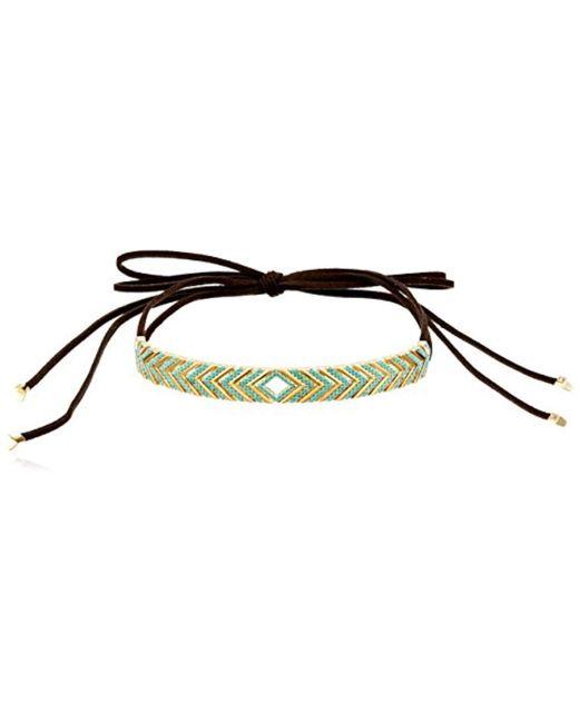 "Noir Jewelry - Multicolor Oceanic Wrap Choker Necklace, 42"" - Lyst"