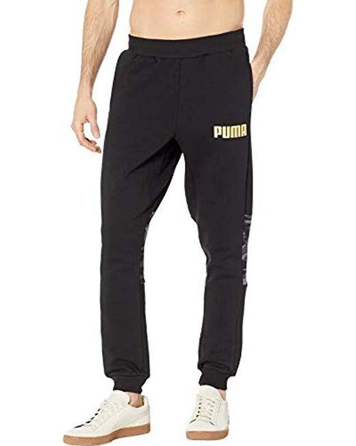 2d6bf3379840 Lyst - PUMA Camo Sweatpant in Black for Men - Save 30%