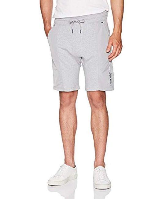 a07b768e4723 Calvin Klein - Gray Jeans Rebel Sports Mixed Nylon Shorts for Men - Lyst ...