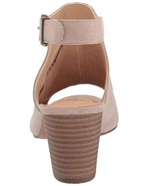 08e584046545 ... Clarks - Multicolor Deloria Gia Heeled Sandal - Lyst ...