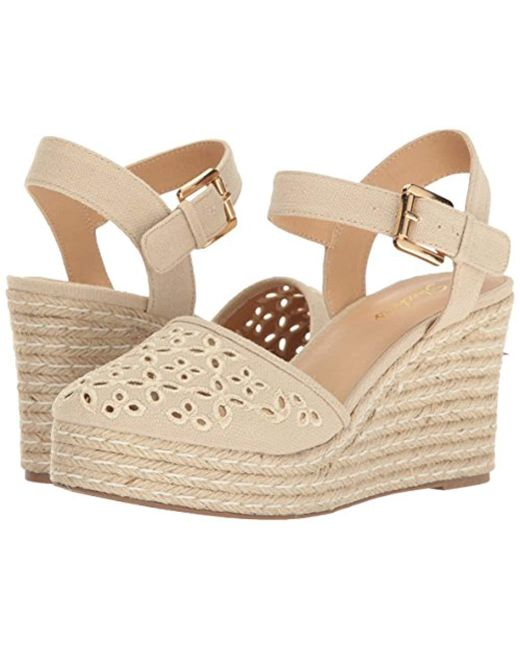 bf32d58e85e Lyst - Skechers Cali Turtledove Platform Sandal in Natural - Save 38%