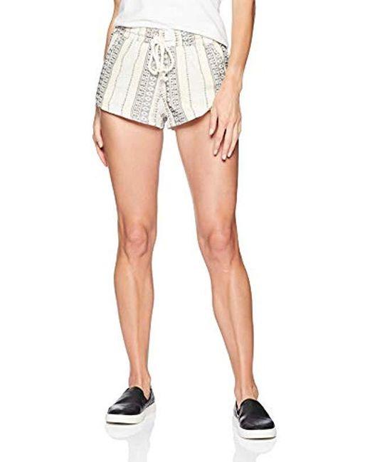 O'neill Sportswear Blue Balsas Stripe Short