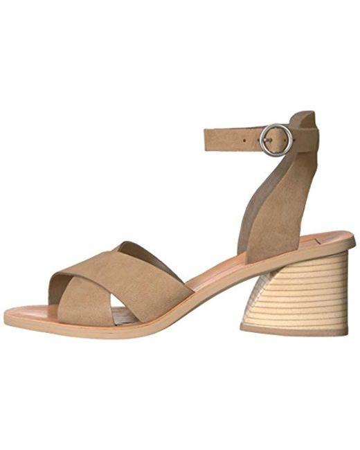 5cddee46e445 Lyst - Dolce Vita Roman Heeled Sandal - Save 47.540983606557376%