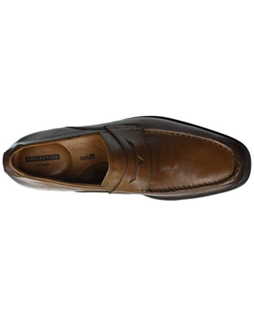 2951604ce82 Lyst - Clarks Tilden Way Penny Loafer in Brown for Men - Save 13%