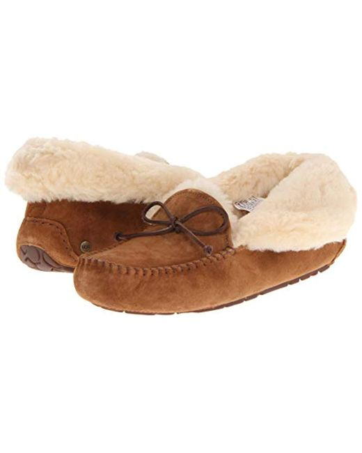 381cf4e0c4b Lyst - UGG Alena Moccasin in Brown - Save 18%
