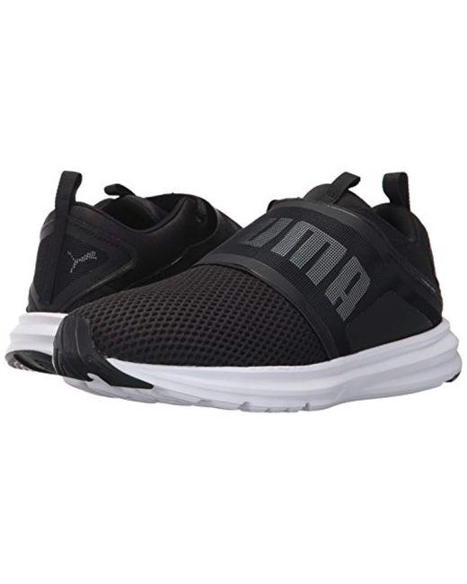 3b3ac354652 Lyst - Puma Enzo Strap Mesh Sneaker in Black for Men - Save ...