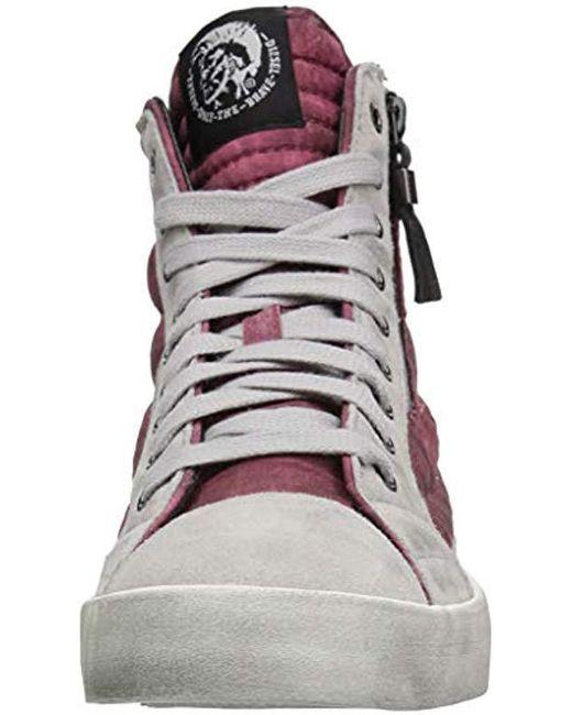 60ef6c71d26cde ... DIESEL - Multicolor D-velows Mid Patch Sneaker for Men - Lyst ...