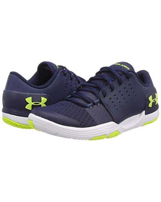 under armour 30 shoes baltimore sneaker show under armour blue ua limitless tr 30 fitness shoes for men lyst in