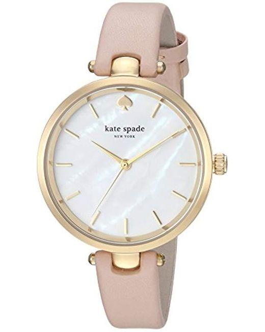 Kate Spade - Multicolor Ladies Park Row Wrist Watch - Lyst