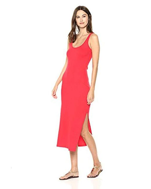 French Connection - Red Tommy Rib Dress - Lyst