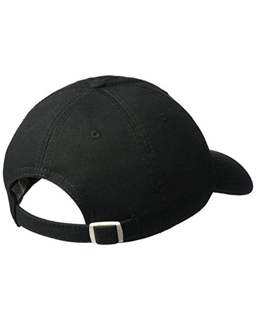 4dc3c5aae202c ... Dockers - Black Classic Baseball Dad Hat With Logo for Men - Lyst ...