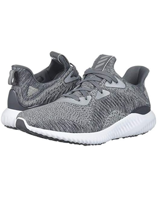 ee9647976fd91 ... Adidas - Gray Alphabounce Hpc Ams M Running Shoe for Men - Lyst ...