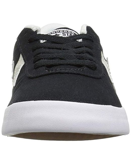 e59196c34c7948 Lyst - Converse Point Star Low Top Sneaker in Black for Men - Save 30%