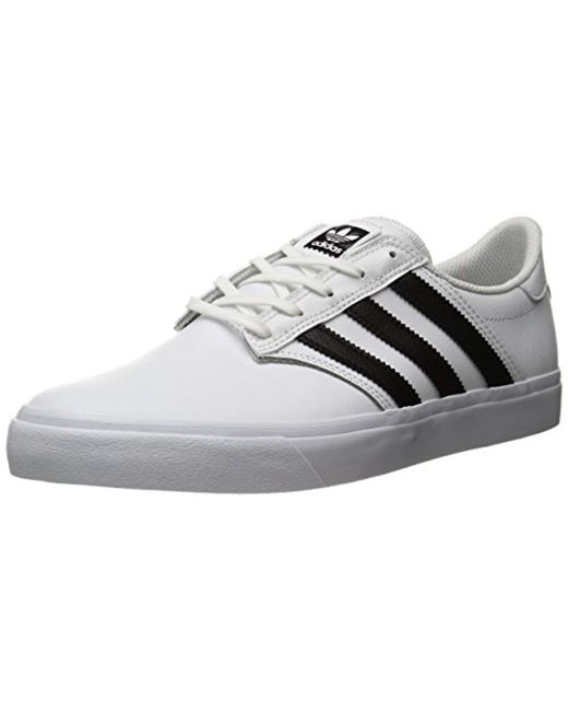 Adidas Originals - White Seeley Premiere Fashion Sneakers -, for Men - Lyst