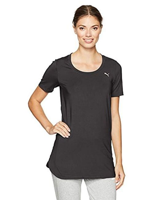 PUMA - Black Velvet Rope Layering Tunic Top - Lyst