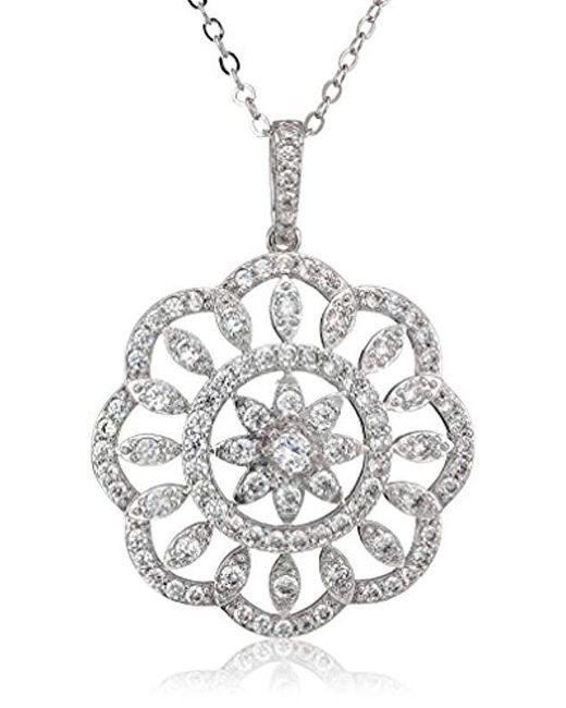 Nina - Multicolor S Arum Necklace - Lyst