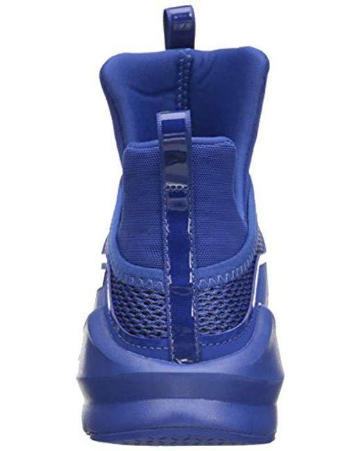 8978dca3bda Lyst - PUMA Fierce Knit Cross-trainer Shoe in Blue - Save 8%