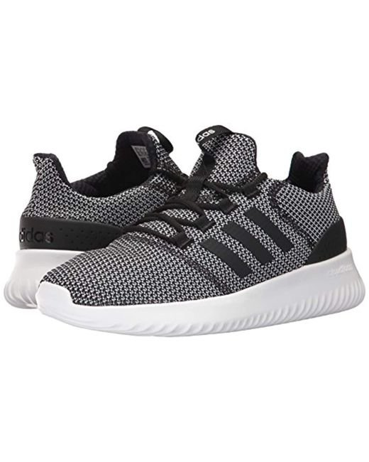 buy online fbb12 63334 ... Adidas - Black Cloudfoam Ultimate Running Shoe for Men - Lyst ...