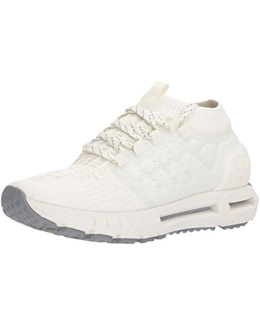 Under Armour - White Hovr Phantom Connected Running Shoe - Lyst