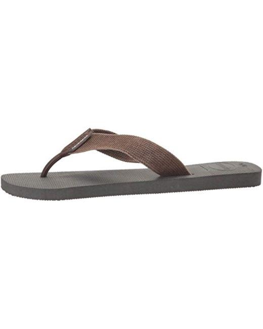 6ae0028b2431 ... Havaianas - Gray Urban Basic Flip Flop for Men - Lyst ...