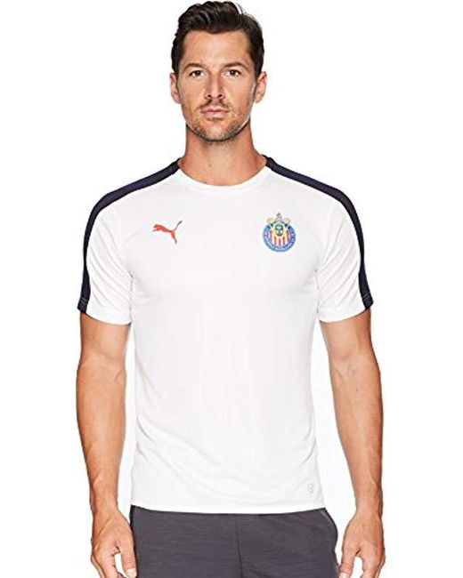ca1cf127218 Lyst - PUMA Chivas Stadium Jersey for Men - Save 51.666666666666664%