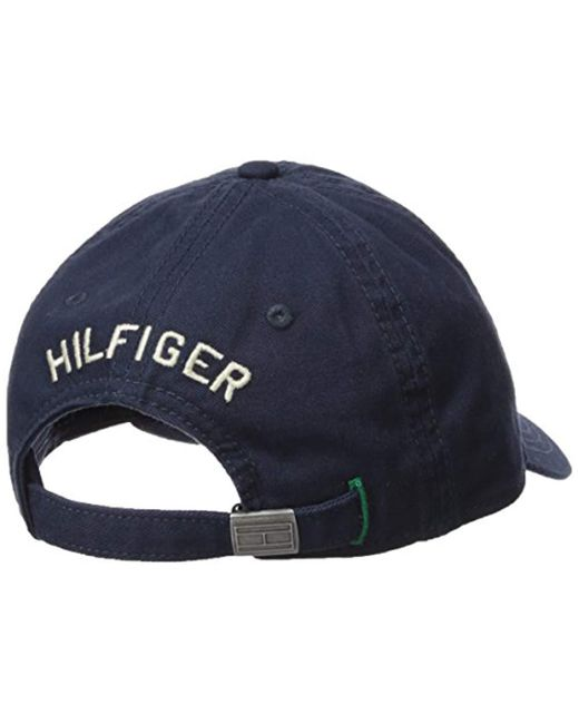 cd032055b0a71 Tommy Hilfiger Baseball Cap in Blue for Men - Lyst