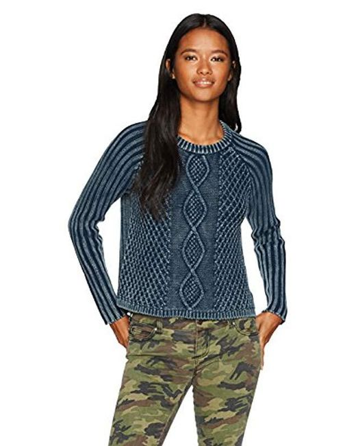 RVCA - Gray Gamenight Sweater - Lyst