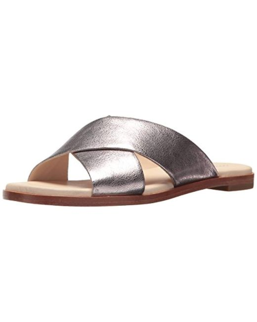 Cole Haan - Multicolor Anica Criss Cross Sandal Slide - Lyst