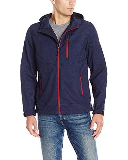 G.H.BASS - Blue Explorer Hoodie Jacket for Men - Lyst