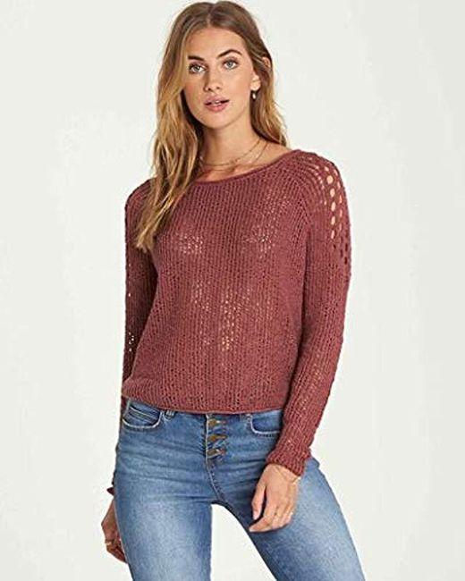Billabong - Red Sea Ya Soon Sweater - Lyst