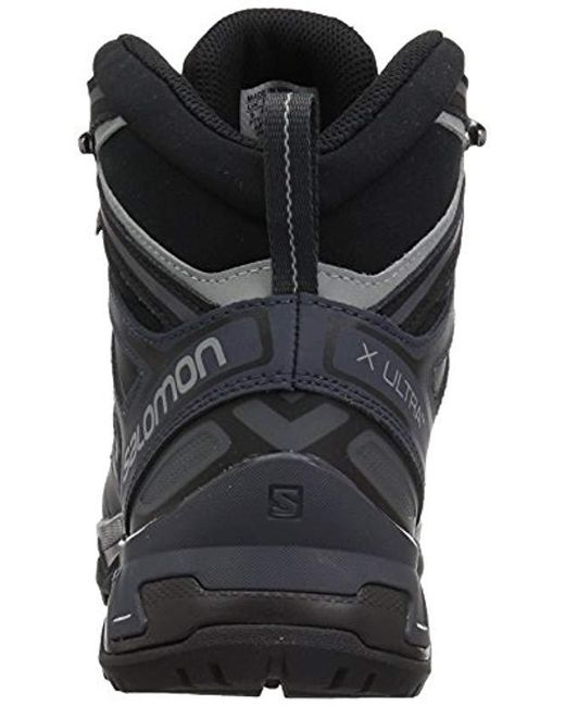competitive price c43fc 897d8 Men's Black X Ultra 3 Wide Mid Gtx Hiking Boots