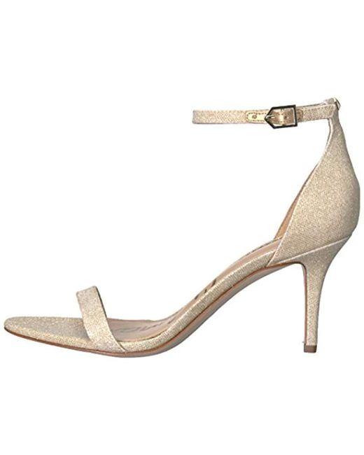 54cbecd50 Lyst - Sam Edelman Patti Dress Sandal in Natural - Save 46%
