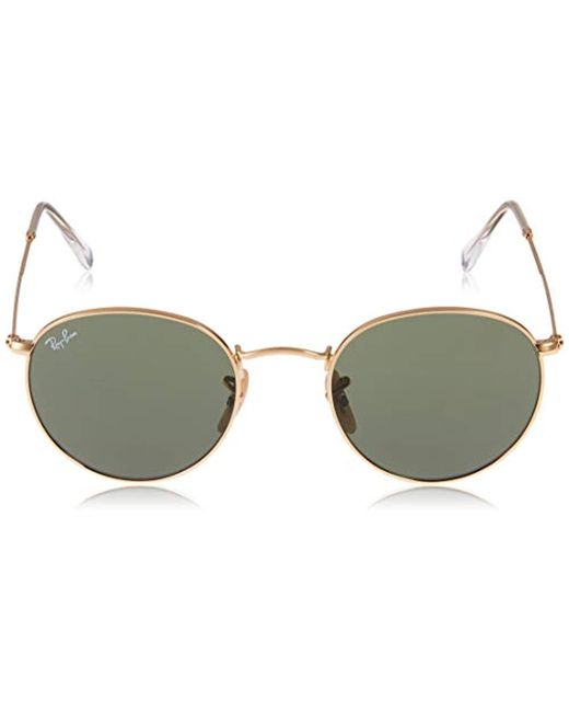 12487c791b ... Ray-Ban - Multicolor Ray Ban 0rb3447 Round Metal Sunglasses - Lyst ...