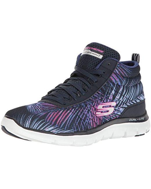 Skechers - Blue F Lex Appeal 2.0 Recruit Fashion Sneaker - Lyst