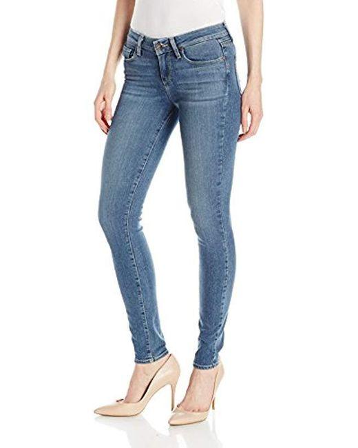 PAIGE - Blue Verdugo Ultra Skinny Jeans - Lyst