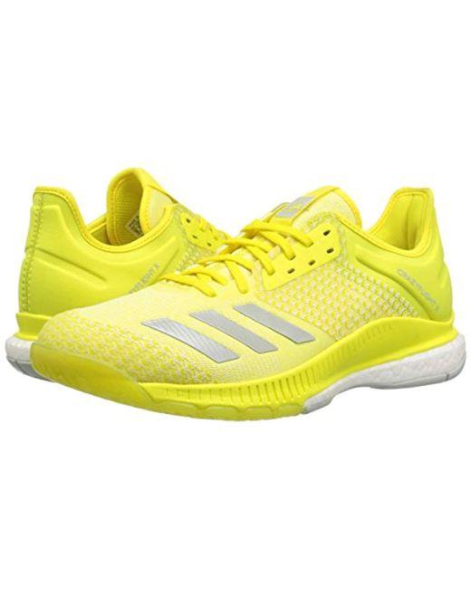 best service 0383d 31560 ... Adidas Originals - Yellow Crazyflight X 2 Volleyball Shoe - Lyst ...
