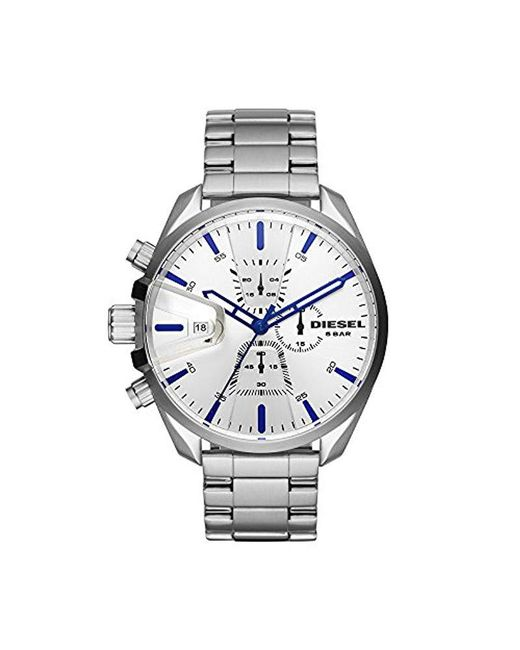 DIESEL - Metallic Men's Ms9 Chrono Stainless-steel Watch for Men - Lyst