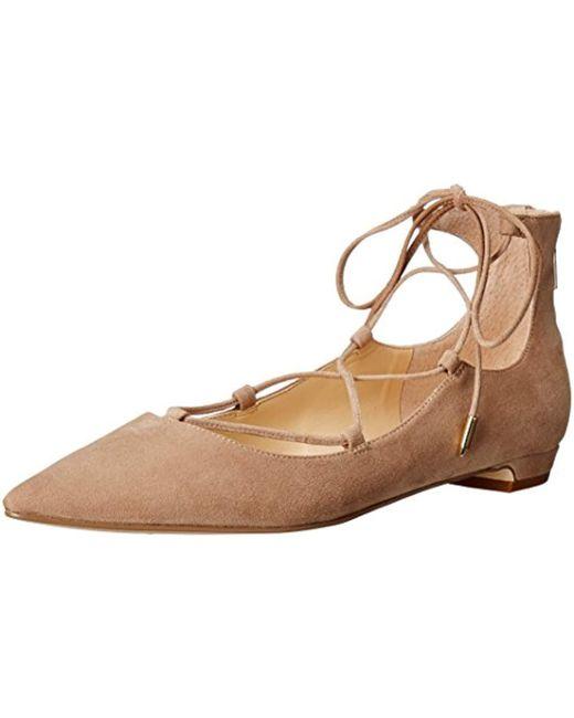 Ivanka Trump - Natural Tropica Ballet Flat - Lyst