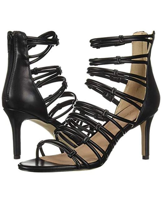 78d2ba4270 Lyst - BCBGeneration Maria Strappy Dress Sandals in Black - Save 46%