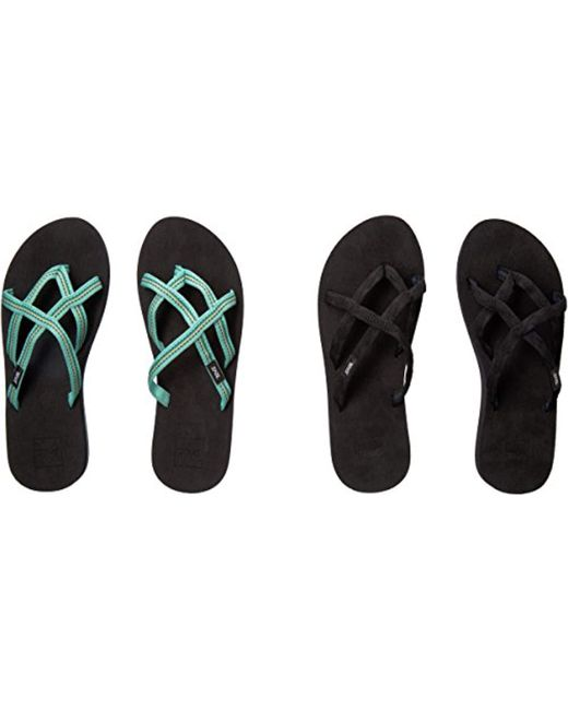 dab1cf8a1a0df ... Teva - Multicolor Olowahu Set Of Two Pairs Of Flip-flops - Lyst ...