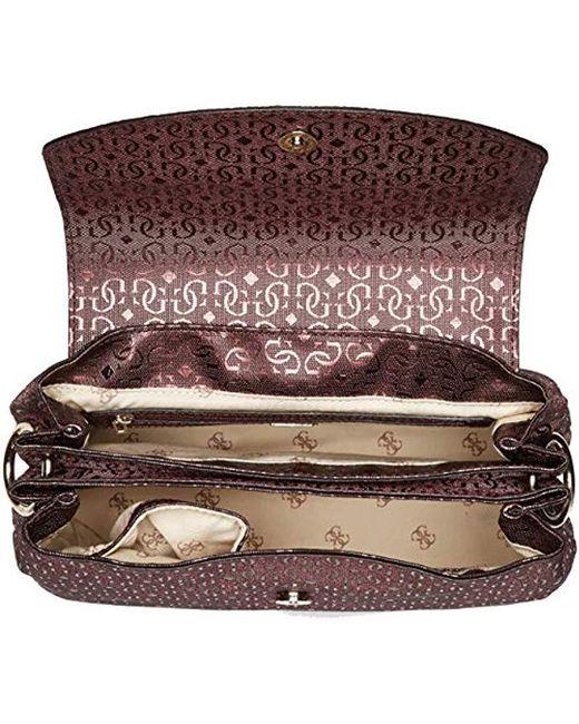 92128bc7f02c ... Guess - Multicolor Tamra Metallic Shoulder Bag - Lyst ...