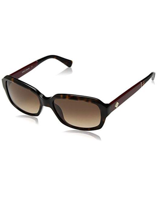 Cole Haan - Multicolor Ch7004 Plastic Rectangular Sunglasses, 57 Mm - Lyst