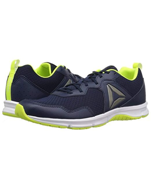 4dd07ca184ec45 ... Reebok - Blue Express Runner 2.0 Running Shoe for Men - Lyst ...