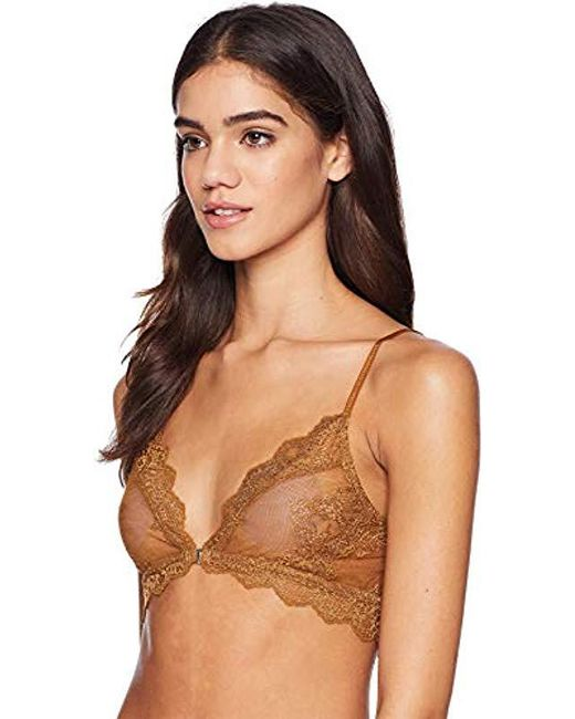 7534355fc7 ... Only Hearts - Natural So Fine Lace Bralette - Lyst ...