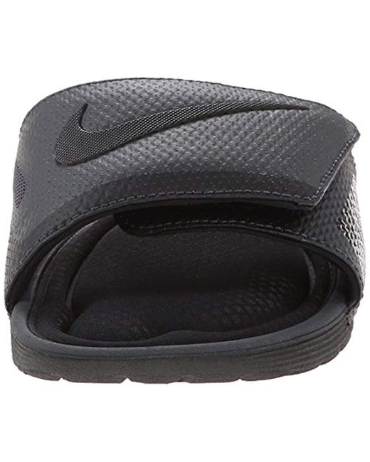 5079733724da Lyst - Nike Solarsoft Comfort Slide Sandal in Black for Men - Save 17%
