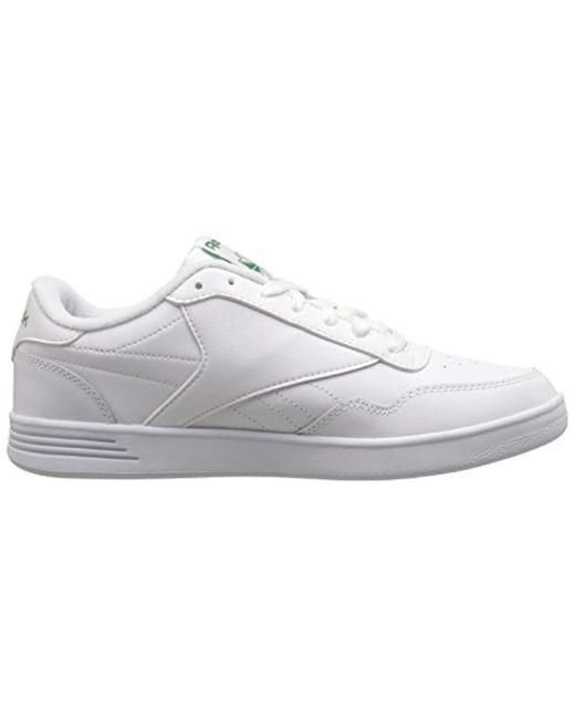 94da7d2fafac Lyst - Reebok Club Memt in White for Men - Save 30.434782608695656%