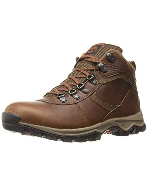 Timberland - Brown Mt. Maddsen Hiker Boot for Men - Lyst